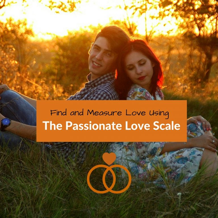 Image with the caption FInd Love Using The Passionate Love Scale
