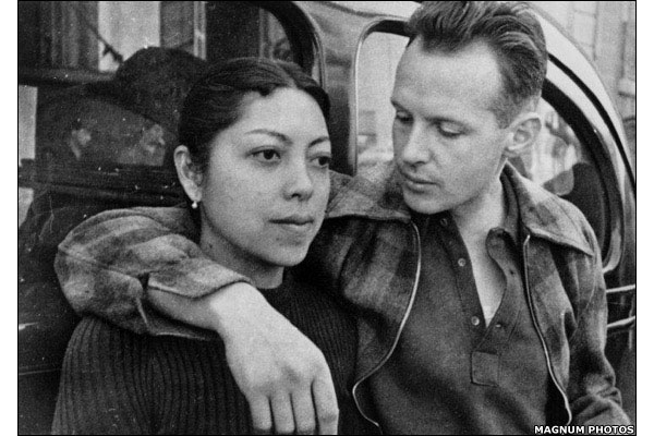 Image of Ratna Mohini and Henri Cartier Bresson