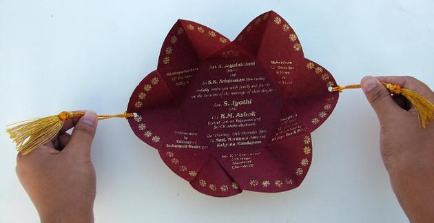 Image of Wedding Invitation Cards - Contemporary India