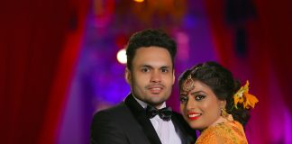 Indian couple who chose love marriage