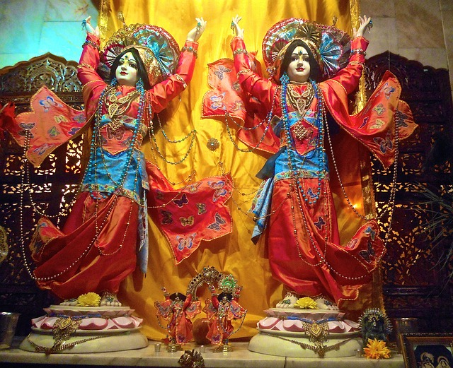 Image of Krishna and Radha - Finding Love in Ancient India