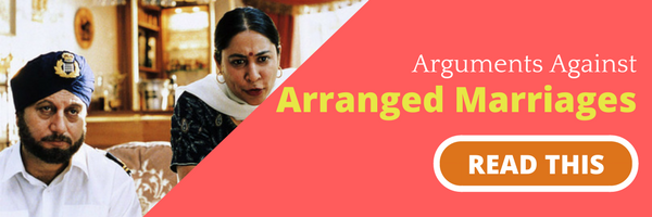 Arguments against arranged marriage