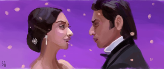 Awesome Bollywood fan art by Cristina Bombolla