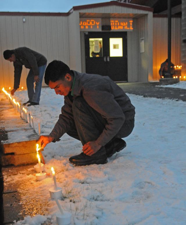 Diwali celebration by Indian Army in Alaska