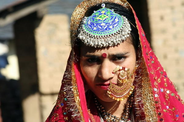 Most beautiful Indian bride - Gaddi bride