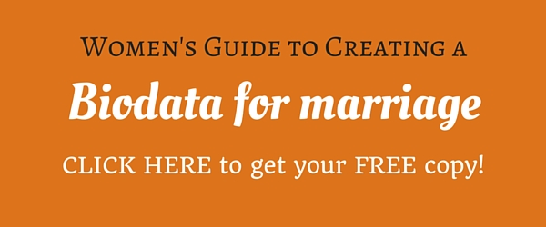 Womens guide to creating a biodata for marriage