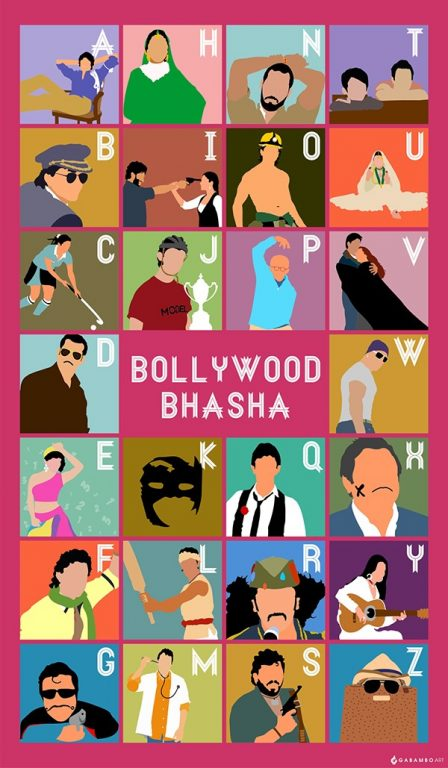 Awesome Bollywood fan art by Mallika Malks