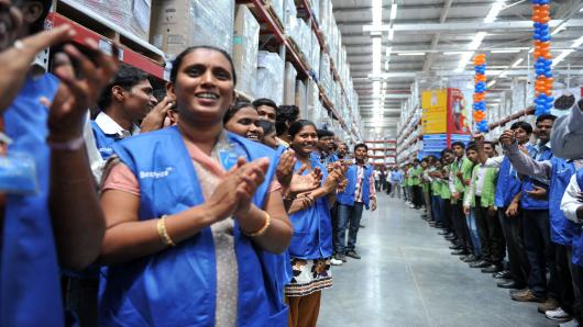 India's obsession with fair skin - supermarkets invariably employ darker skinned people