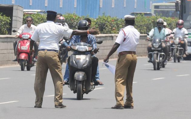 India's obsession with fair skin - Traffic cop