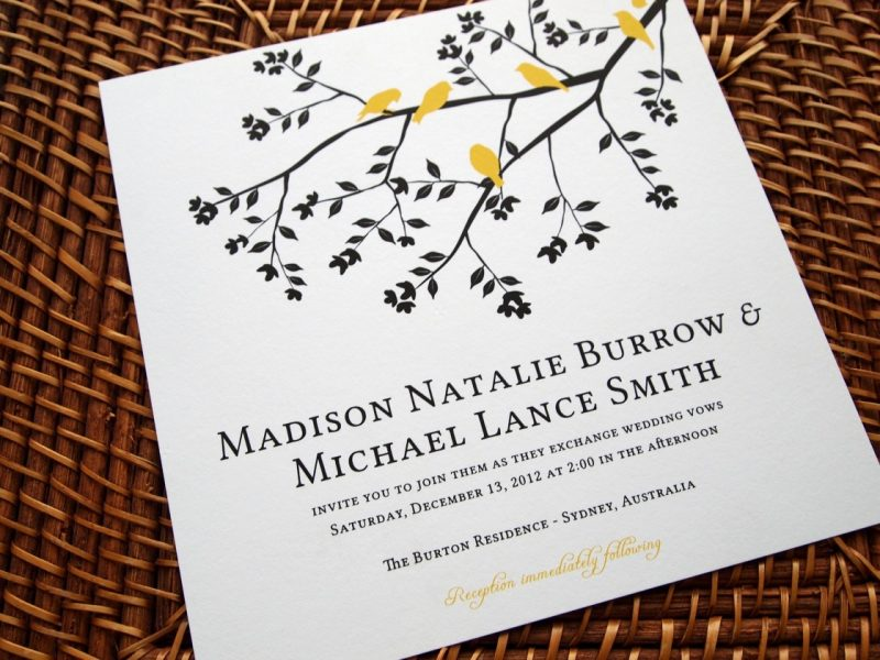 of Wedding Invitation Paper And How to Choose One