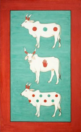 Cow artwork from Pinterest