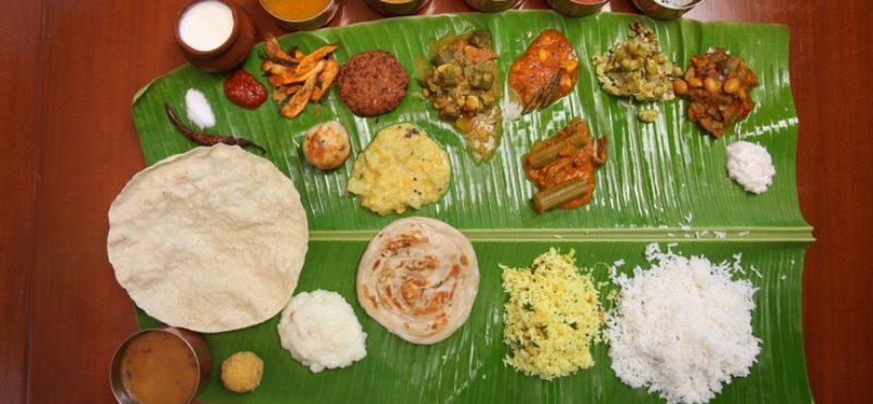 South Indian Wedding Feast