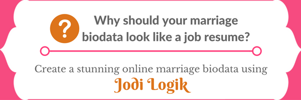 Dotted Line Biodata Format For Marriage Download