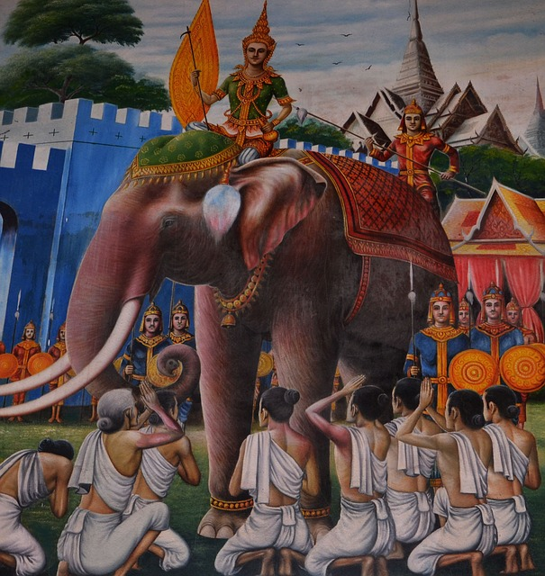 Paintings on Indian culture