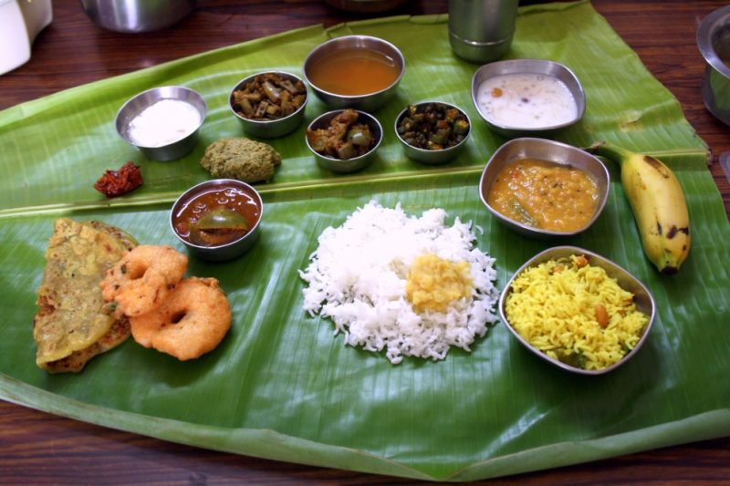 15 amazing thali meals from every corner of india for Andhra cuisine vegetarian