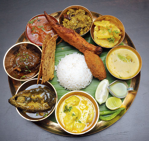 15 amazing thali meals from every corner of india for Arman bengal cuisine dinas menu