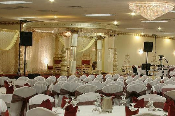Wedding halls in hotels