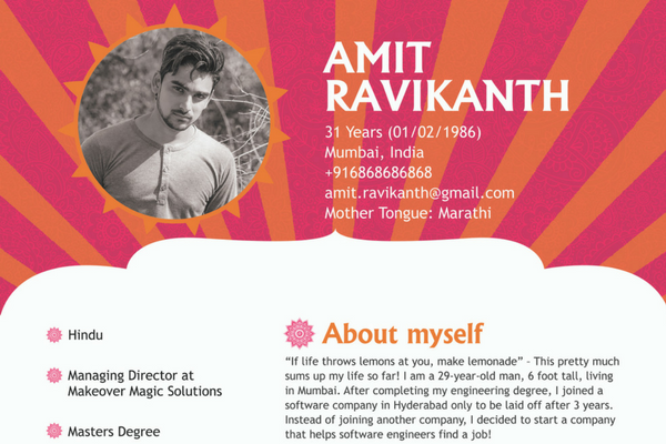 7 Stunning Biodata Format That Will Get You A Guaranteed Response