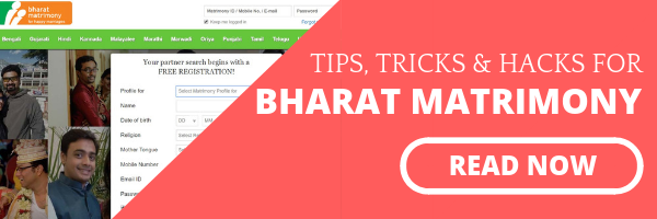 Bharat Matrimony Hacks