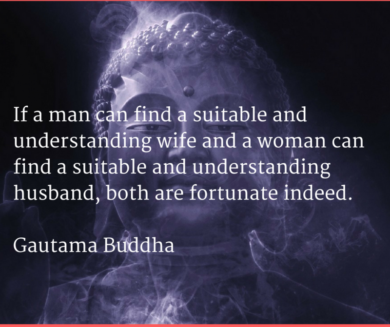 Buddha on marriage