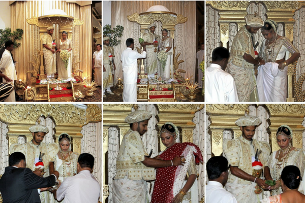 Porowa Ceremony - Sri Lankan Buddhist Marriage