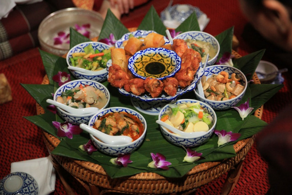 Thailand Buddhist Wedding Feast